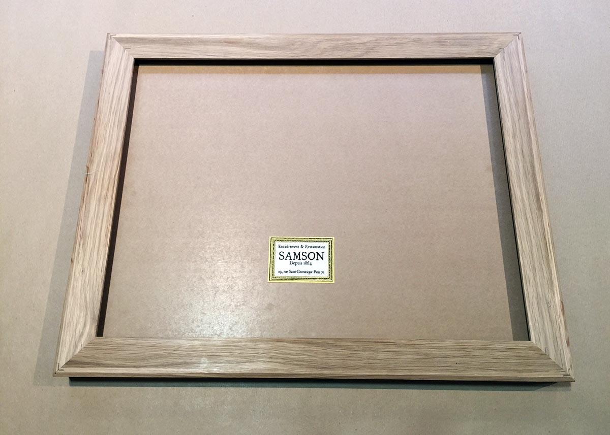 Le cadre Box System - Maison Samson