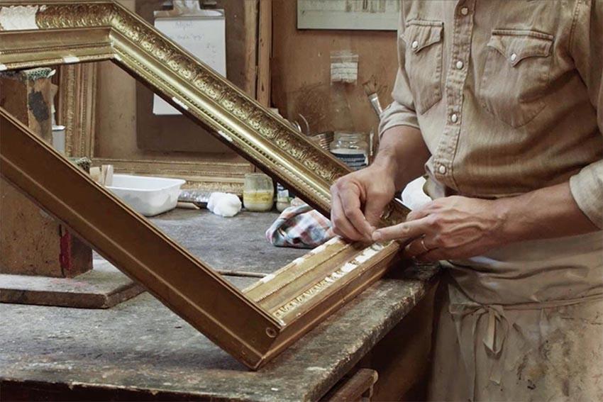 Restauration de bois doré - Maison Samson